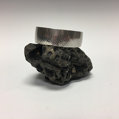 cuff sterling patterned